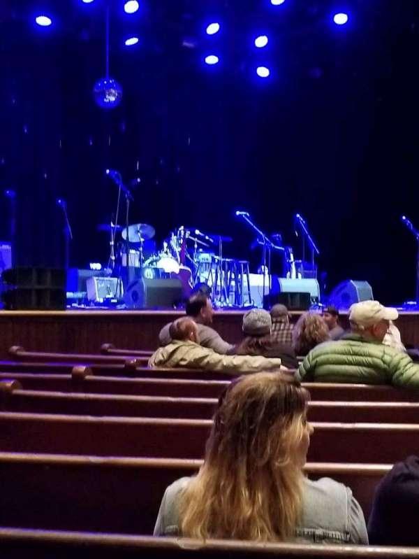 Ryman Auditorium, secção: MF-7, fila: M, lugar: 5