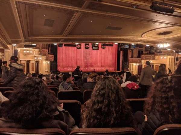 Hippodrome Theatre, secção: Left Orchestra, fila: DD, lugar: 3