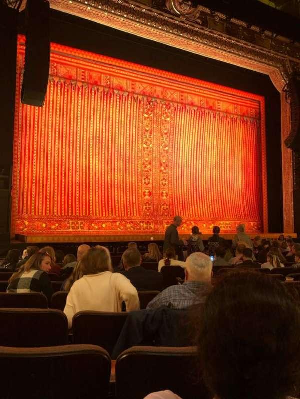 Hippodrome Theatre, secção: Left Orchestra, fila: N, lugar: 7