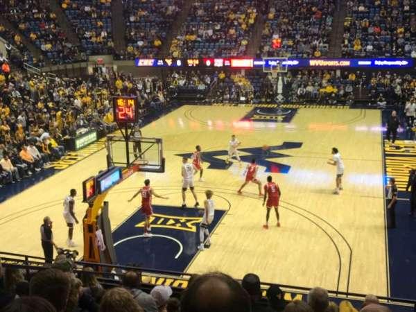 WVU Coliseum, secção: 114, fila: K, lugar: 14