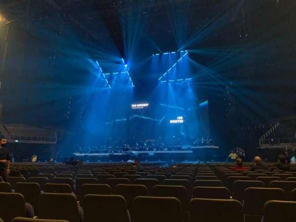 The O2 Arena, secção: Floor B3, fila: U, lugar: 43