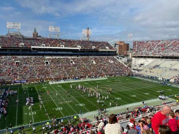 Bobby Dodd Stadium, secção: 227, fila: 19, lugar: 1