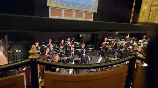 Citizens Bank Opera House, secção: Orchestra LC, fila: DD, lugar: 15