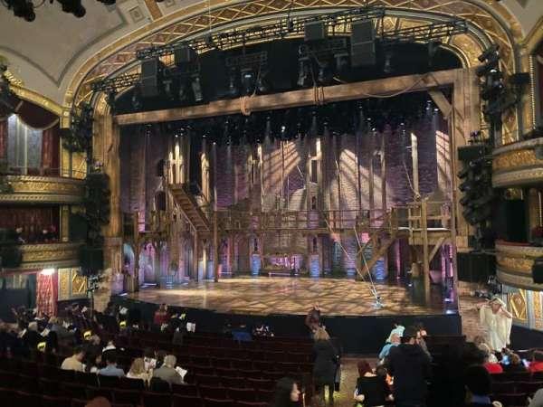 Richard Rodgers Theatre, secção: Orchestra R, fila: P, lugar: 6