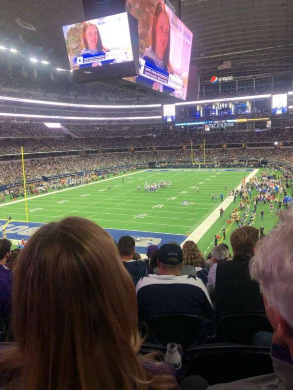 AT&T Stadium, secção: 244, fila: 8, lugar: 11