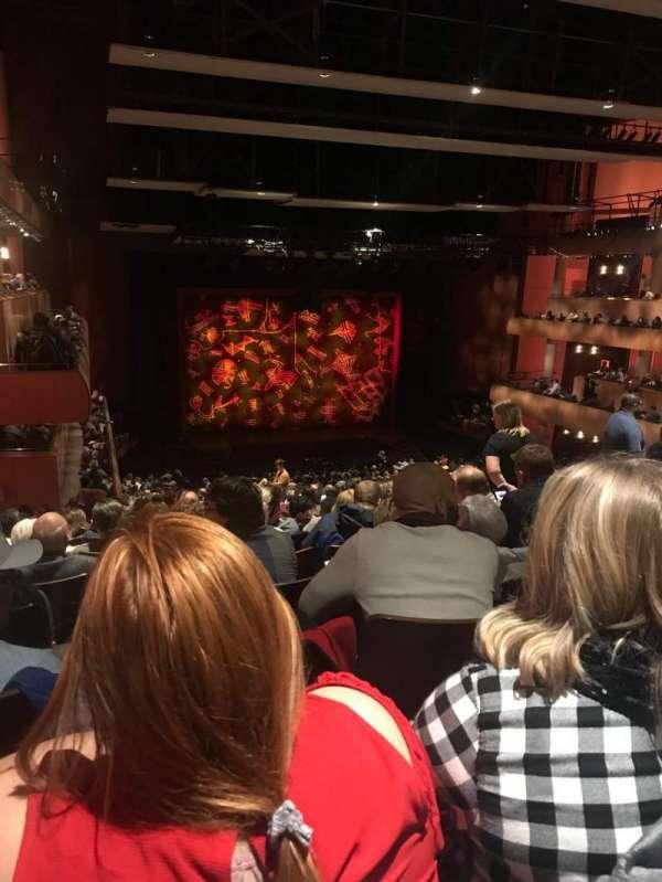 DeVos Performance Hall, secção: Mezzanine, fila: S, lugar: 47