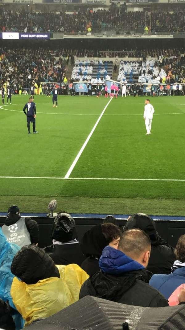 Santiago Bernabéu Stadium, secção: 102, fila: 7, lugar: 02
