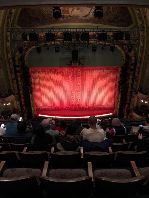 New Amsterdam Theatre, secção: Balcony C, fila: F, lugar: 109