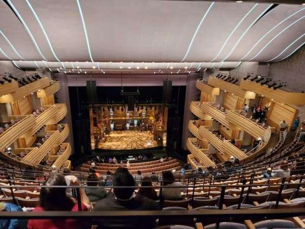 Overture Hall, secção: Left Balcony, fila: M, lugar: 423