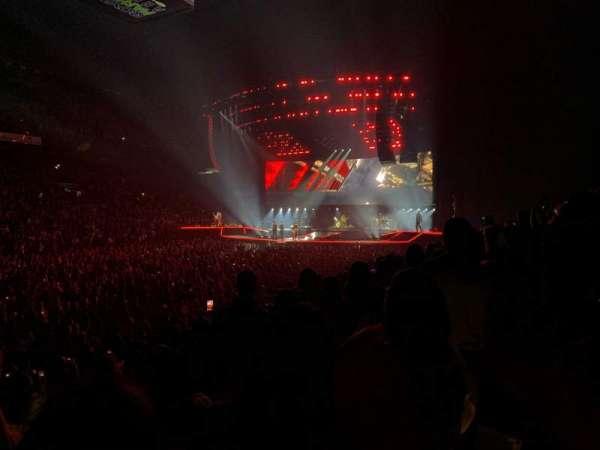 Royal Farms Arena, secção: 114, fila: H, lugar: 4