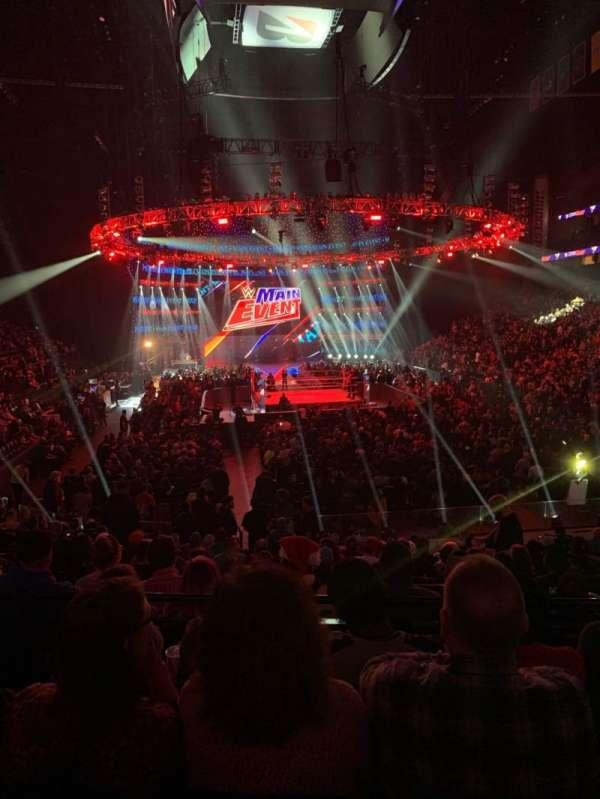 Bridgestone Arena, secção: 120, fila: D, lugar: 11