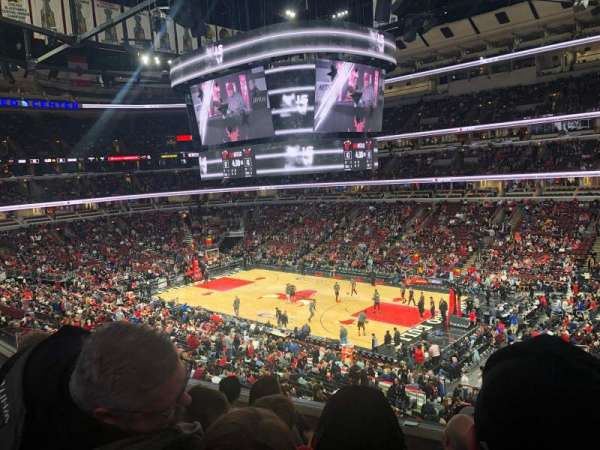 United Center, secção: 231, fila: 5, lugar: 5