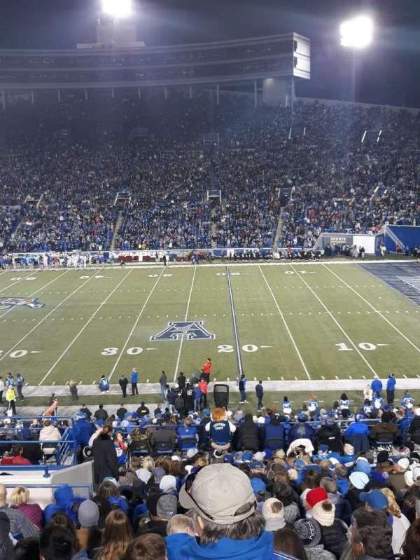 Liberty Bowl Memorial Stadium, secção: 102, fila: 45, lugar: 19