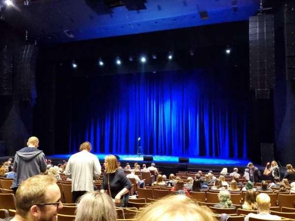 Meridian Hall, secção: ORCH, fila: J, lugar: 68