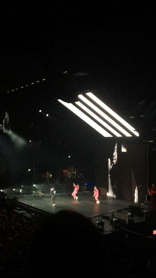 Ziggo Dome, secção: 102, fila: 8, lugar: 54
