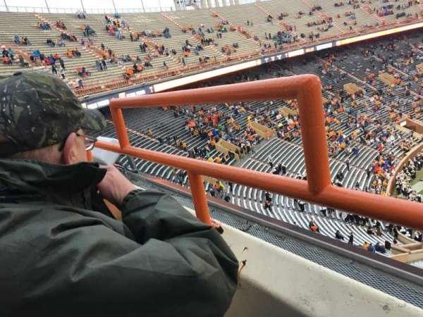 Neyland Stadium, secção: EE, fila: 1, lugar: 31