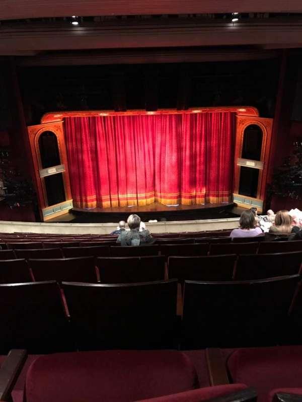 Marquis Theatre, secção: Mezzanine C, fila: L, lugar: 107