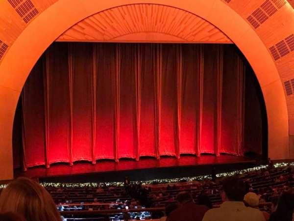 Radio City Music Hall, secção: 1st Mezzanine 6, fila: G, lugar: 601