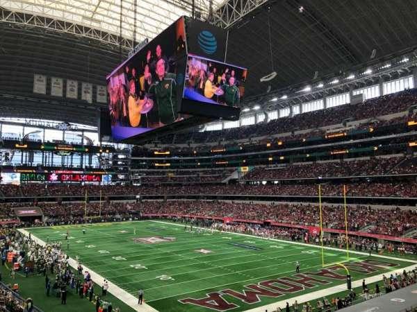 AT&T Stadium, secção: 227, fila: 5, lugar: 2