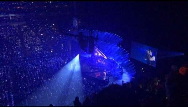 The O2 Arena, secção: 420, fila: L, lugar: 927