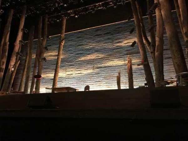 Providence Performing Arts Center, secção: Orch Pit R, fila: A, lugar: 116