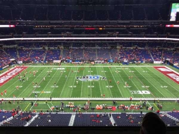 Lucas Oil Stadium, secção: 540, fila: 2, lugar: 13