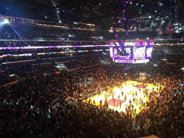 Staples Center, secção: Suite C16