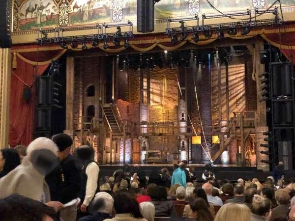 Altria Theater, secção: Orch B, fila: X, lugar: 209