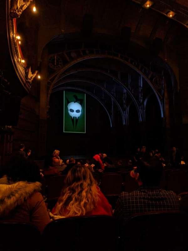 Lyric Theatre, secção: Orchestra L, fila: N, lugar: 33