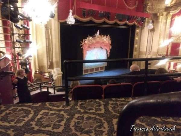 Citizens Bank Opera House, secção: Mezzanine L, fila: A, lugar: 31