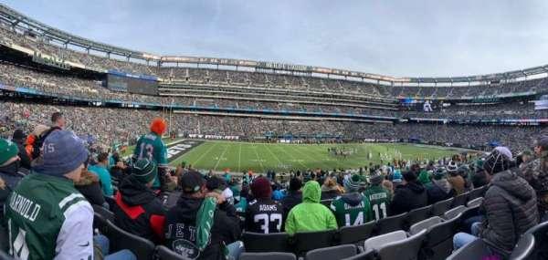 MetLife Stadium, secção: 142, fila: 30, lugar: 16