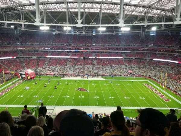 State Farm Stadium, secção: 443, fila: 10
