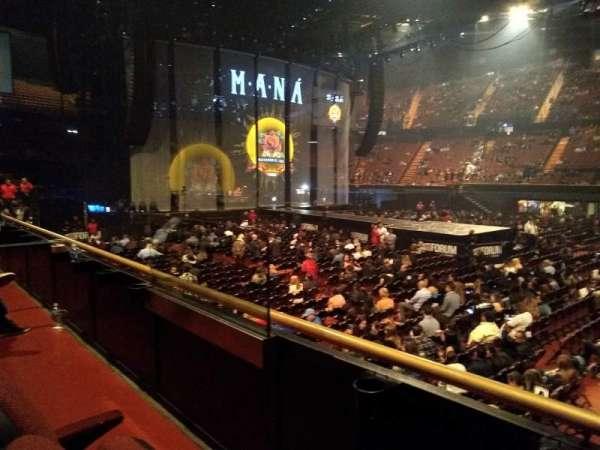 The Forum, secção: 128, fila: 2, lugar: 9-10
