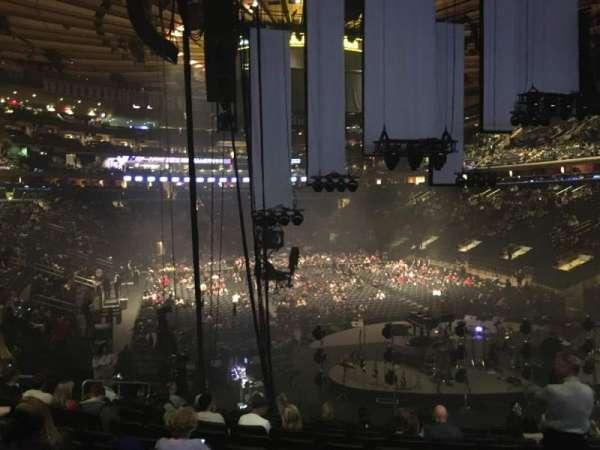 Madison Square Garden, secção: 111, fila: 17, lugar: 15