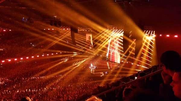 Ziggo Dome, secção: 203, fila: 6, lugar: 78
