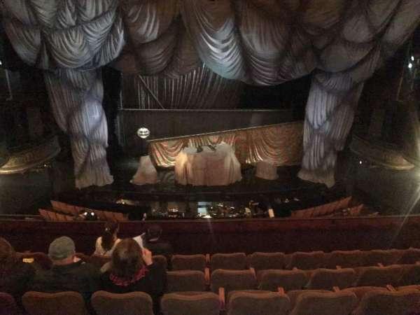 Majestic Theatre, secção: Front mezzanine c, fila: F, lugar: 105