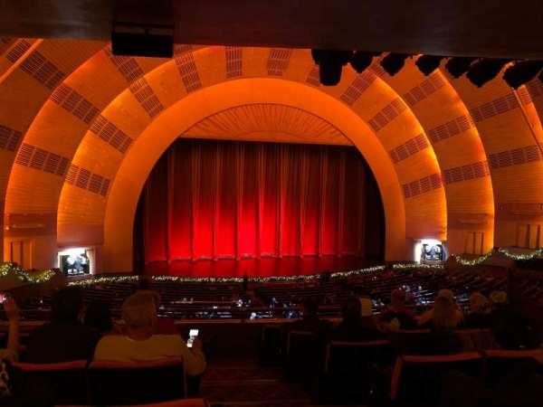 Radio City Music Hall, secção: 1stMZ6, fila: G, lugar: 601
