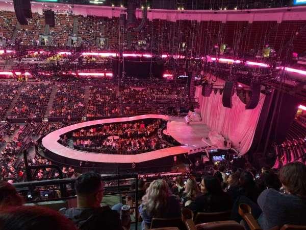 Honda Center , secção: 432, fila: L , lugar: 13