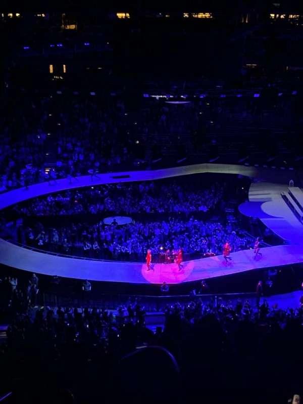 Honda Center, secção: 432, fila: L, lugar: 13