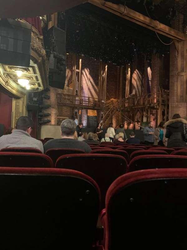 CIBC Theatre, secção: Orchestra L, fila: N, lugar: 19