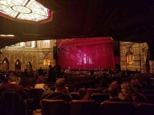 Fox Theatre (Detroit), secção: F6, fila: PP, lugar: 604