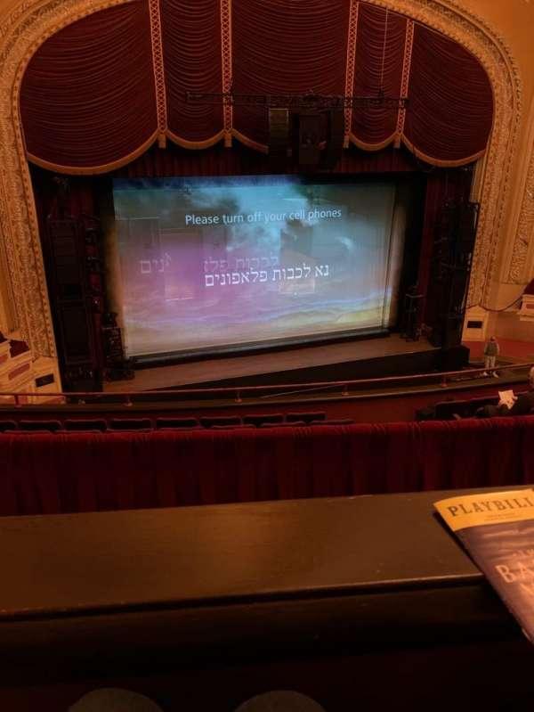 Orpheum Theatre (Minneapolis), secção: Balcony 7, fila: G, lugar: 12