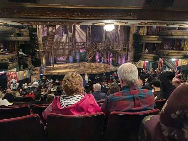 Richard Rodgers Theatre, secção: Orchestra L, fila: T, lugar: 17