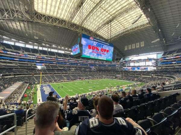 AT&T Stadium, secção: 215, fila: 12, lugar: 12