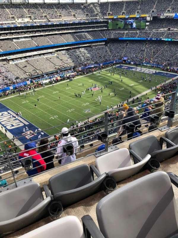 MetLife Stadium, secção: 344, fila: 7, lugar: 6
