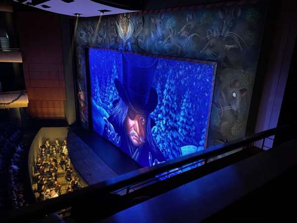 DeVos Performance Hall, secção: Loge, fila: A, lugar: 15