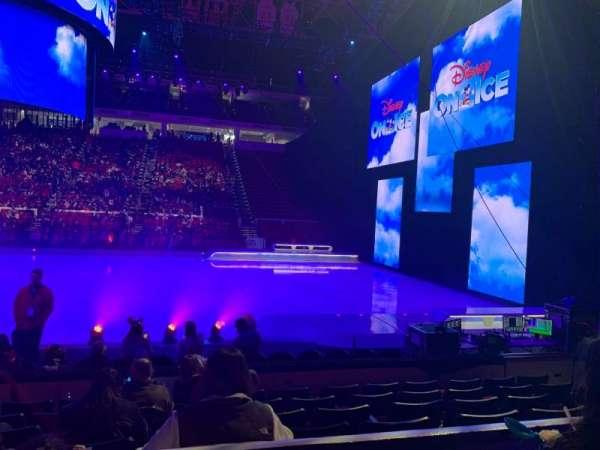 PNC Arena, secção: 118, fila: G, lugar: 10