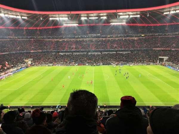 Allianz Arena, secção: 231, fila: 23, lugar: 4