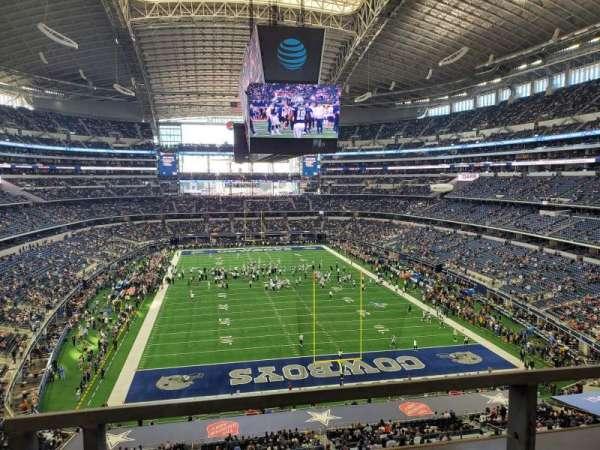 AT&T Stadium, secção: 349, fila: 1, lugar: 6