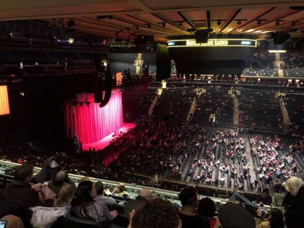 Madison Square Garden, secção: 224, fila: 10, lugar: 17